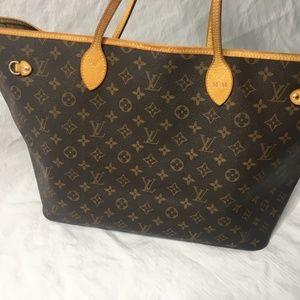 Louis Vuitton Neverfull GM Shoulder Bag Monogram